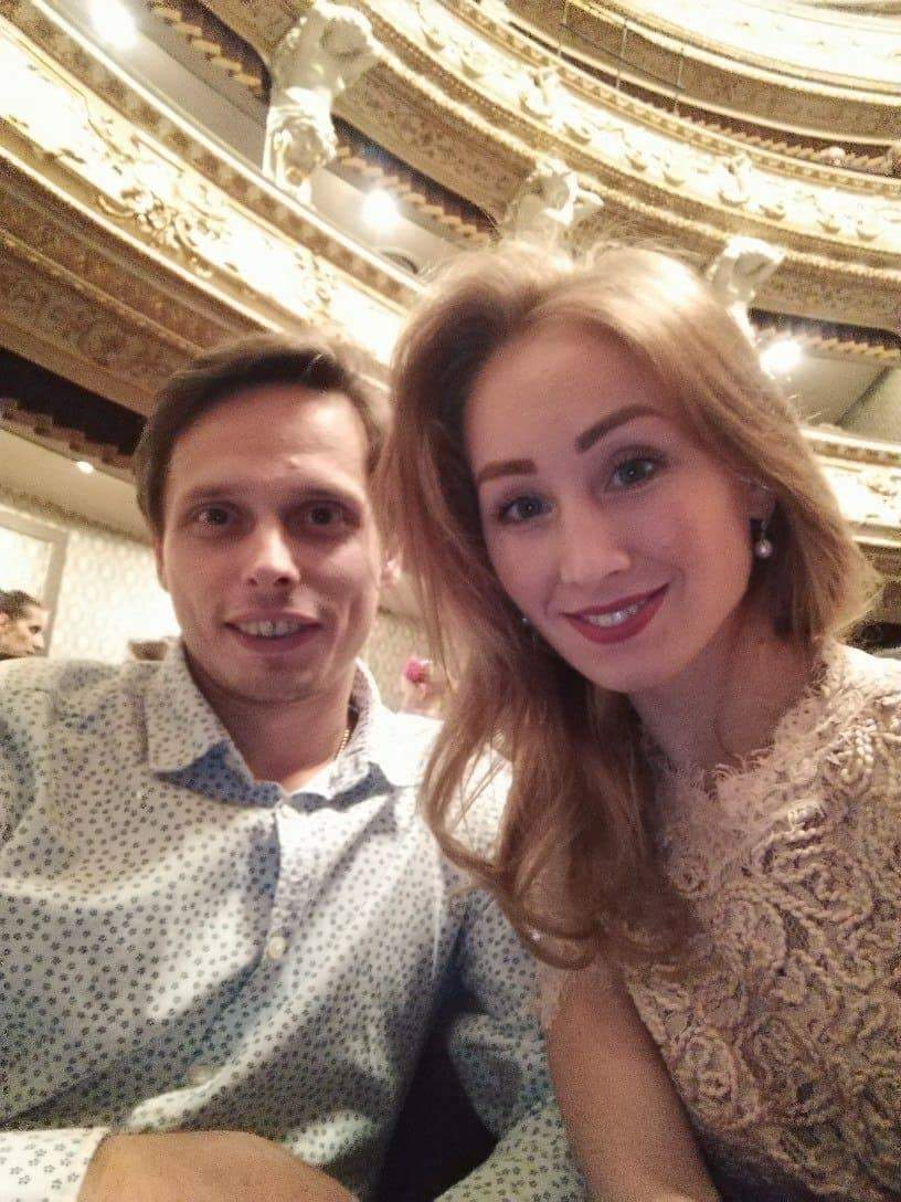 Olga Chelpanova a Konstantin Korotkov